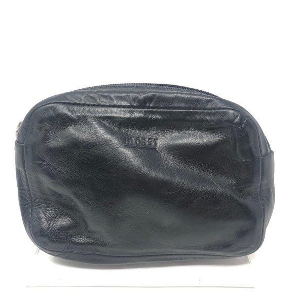 m0851 Black Leather Pouch